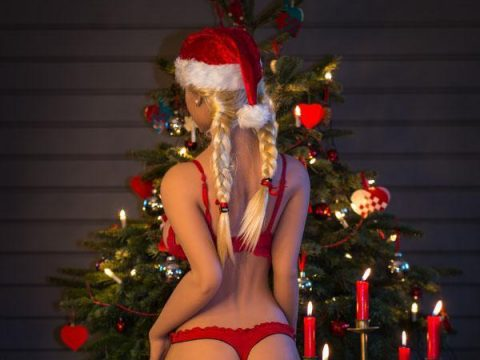 Happy holidays with Christmas Sex Doll