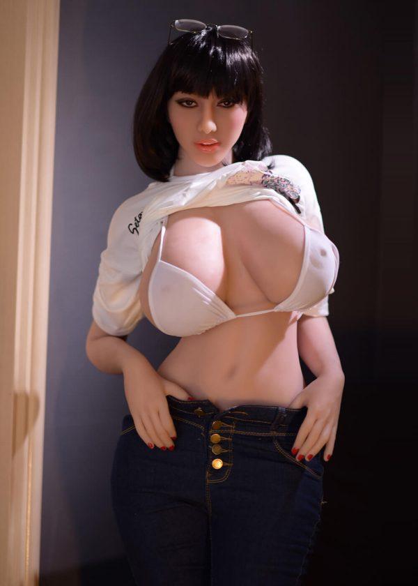 Big Tits Japanese Sex Doll 163cm