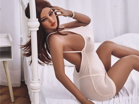 Brown Haired Sex Doll 163 cm