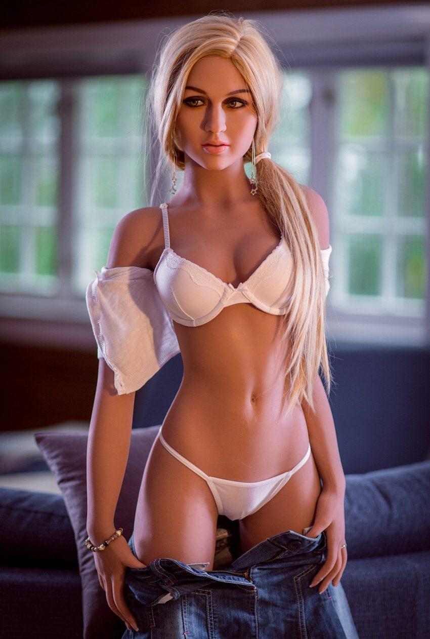 Blonde Sex Doll Tiny Tits