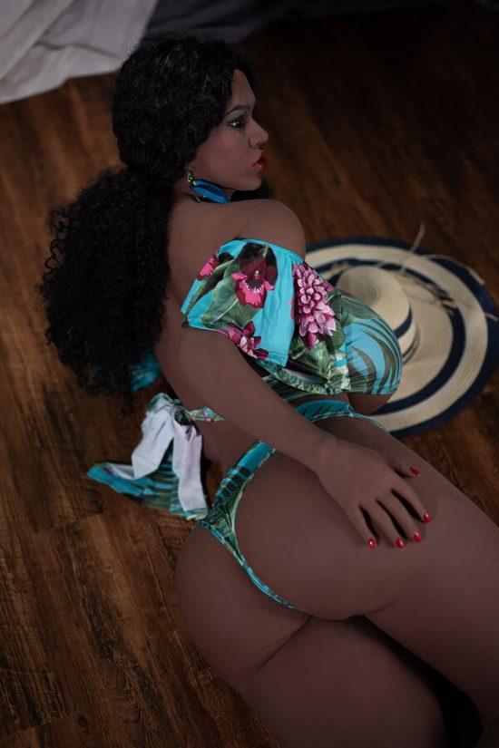 Black sex doll 165 cm